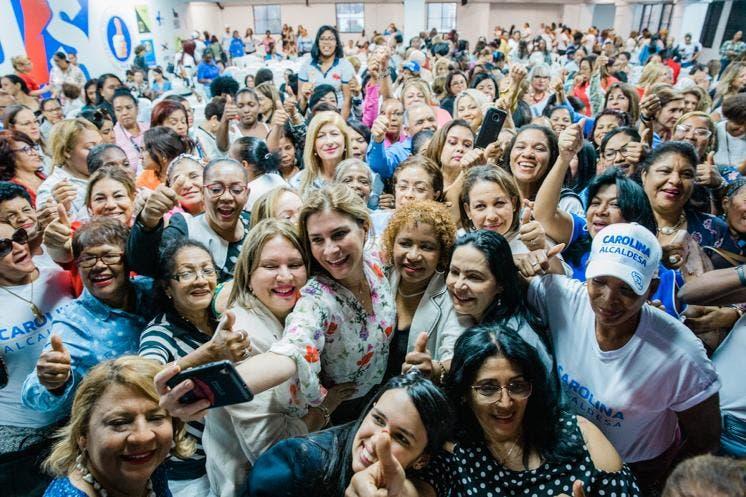 Video: Carolina destaca cualidades y talento de la mujer capitaleña en ocasión del Día Internacional de la Mujer