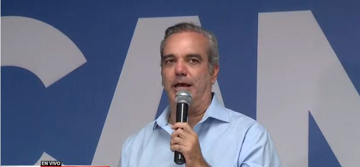 Luis Abinader: Hoy 15 de marzo se inicia el cambio en República Dominicana
