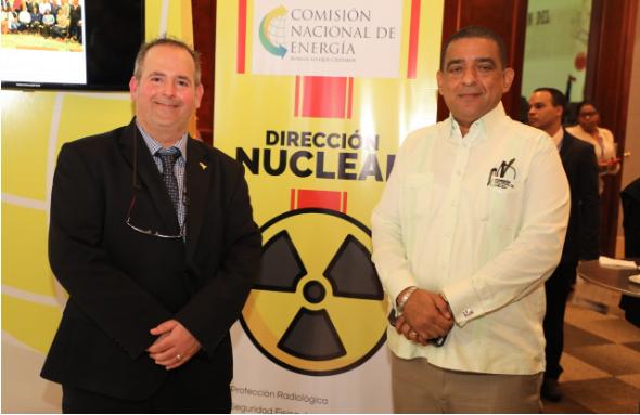 Dirección Nuclear de la CNE expone sobre normas y prácticas de protección radiológica