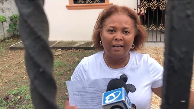 Video: Dominicana con supuesto coronavirus se comprometió a no salir de casa, pero intentó ir a comprar tarjeta