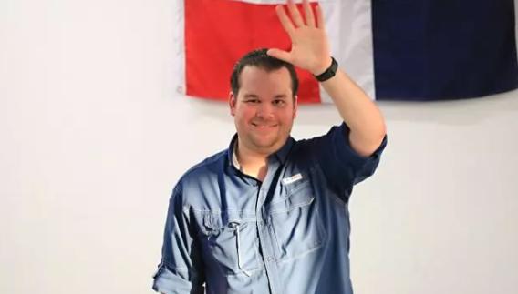 Orlando Jorge Villegas inscribe su candidatura a diputado por el DN