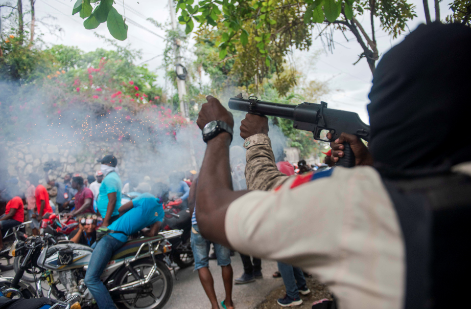 Crisis en Haití: Policías haitianos retoman protestas tras tiroteo con soldados
