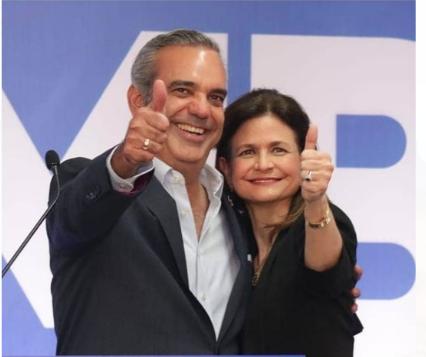 Pondera escogencia de Raquel Peña como compañera de boleta de Luis Abinader