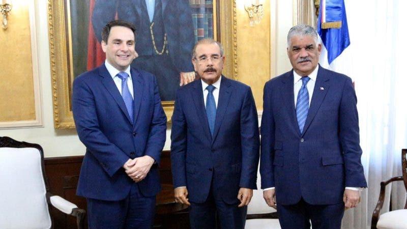 Reunión en el Palacio Nacional