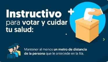 ¿Cómo cuidarse del coronavirus durante las elecciones extraordinarias municipales de hoy?