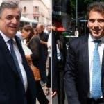Los diputados de Juntos por el Cambio Mario Negri y Cristian Ritondo. Fuente Externa.