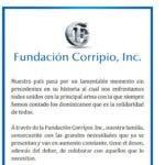 Fundación Corripio dona RD$ 50 millones.