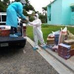 CONAPE entregó alimentos y medicamentos a centros geriátricos.