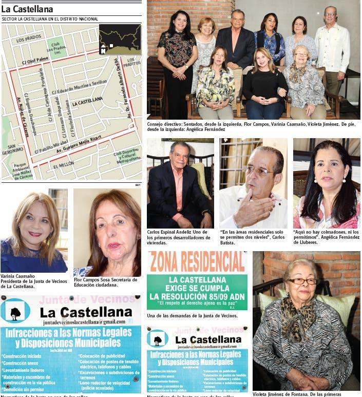La Castellana, sector empoderado