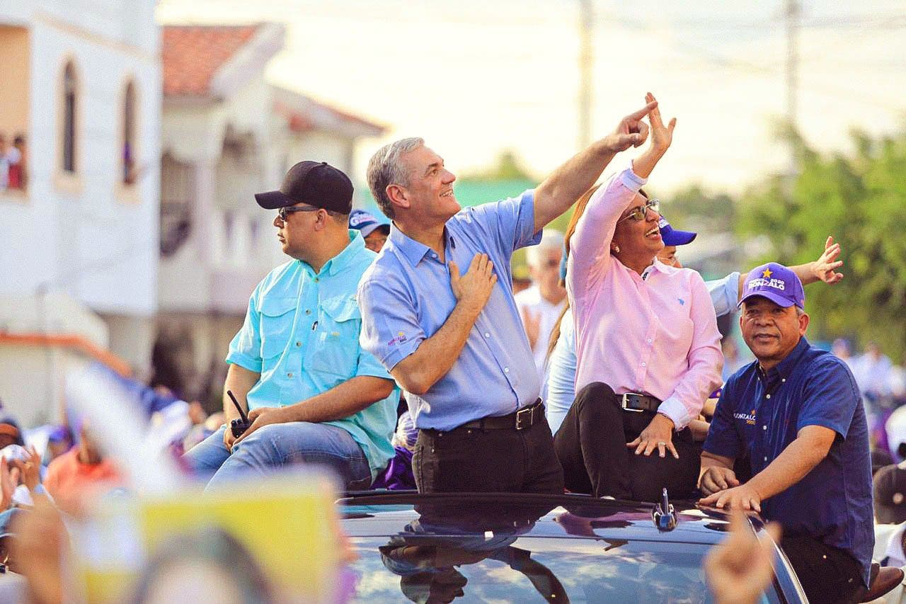 Gonzalo Catillo concluye su recorrido en respaldo a candidatos PLD