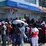 Recorrido por bancos /Hoy/06-04-2020/Ana Marmol