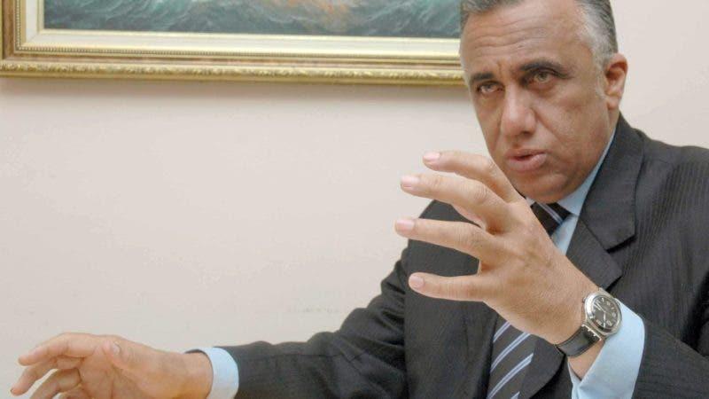 El licenciado Luis (Luisín) Mejía Oviedo, presidente del Comité Olímpico Dominicano (COD) agradeció a Dios que ningún atleta ha dado positivo al COVID-19./HOY CARLOS ALONZO