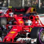 SUKI025. Melbourne (Australia), 25/03/2017.- German Formula One driver Sebastian Vettel of Scuderia Ferrari in action during the 2017 Formula One Grand Prix of Australia at the Albert Park circuit in Melbourne, Australia, 26 March 2017. (Fórmula Uno) EFE/EPA/SRDJAN SUKI