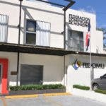 Fachada de la Federación Dominicana de Municipios FEDOMU. Hoy/Arlenis Castillo/18/03/2020.