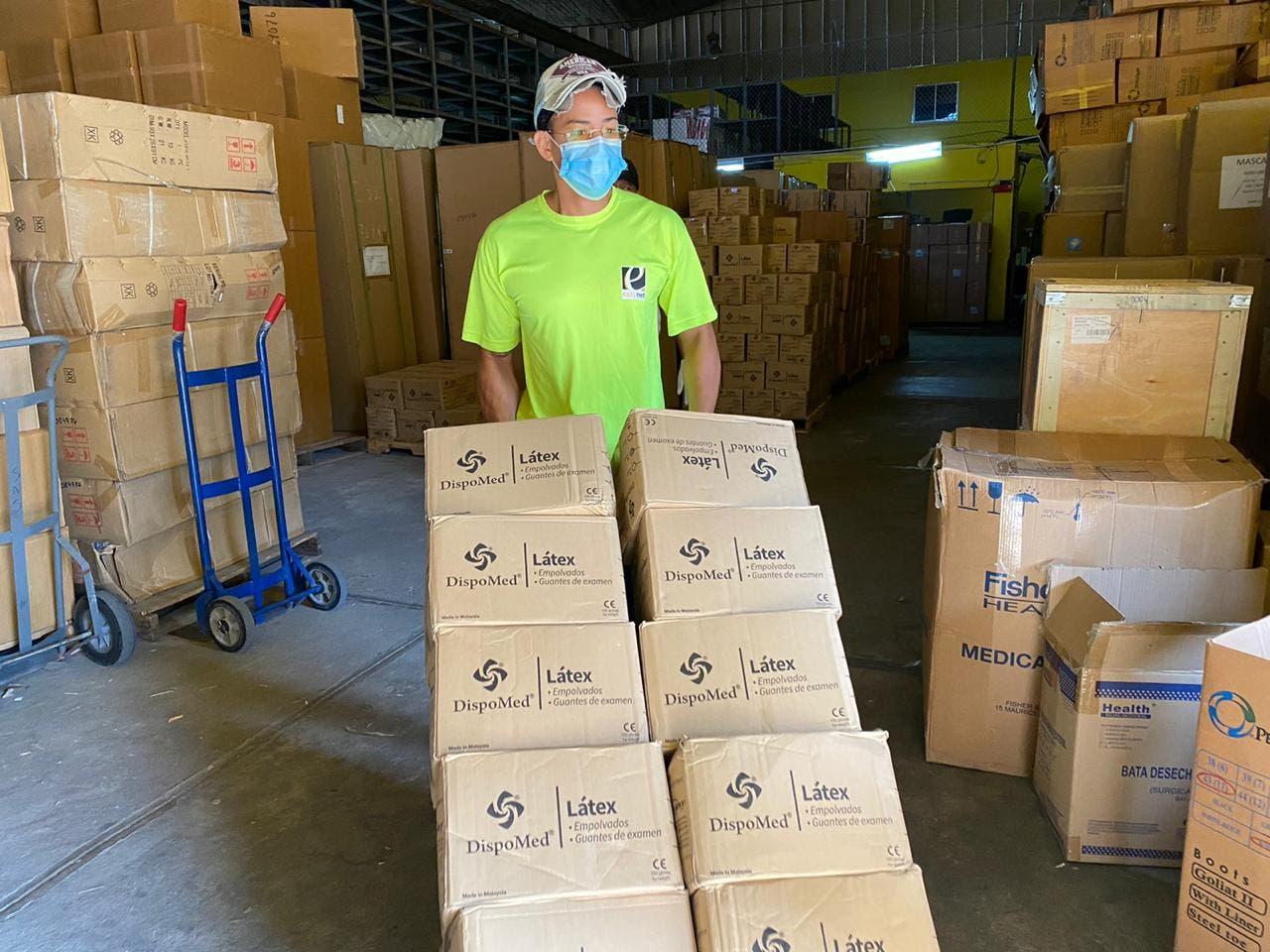 COVID-19: SNS distribuye más de cinco millones de equipos de protección personal
