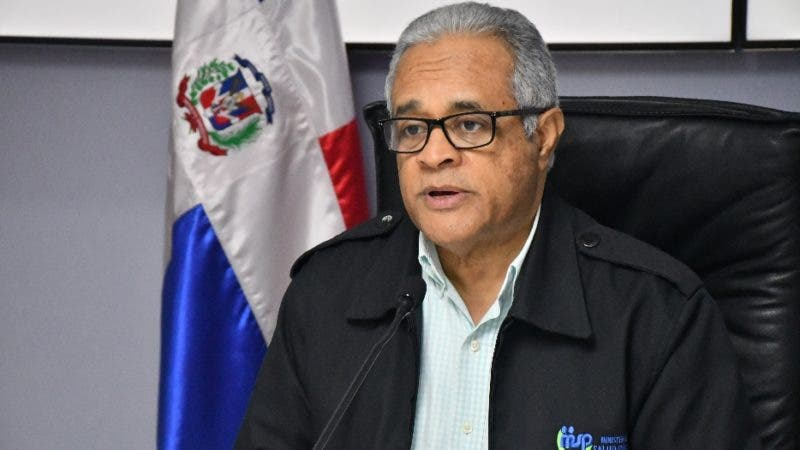 El ministro de Salud, doctor Rafael Sánchez Cárdenas.