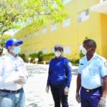 El director del Gabinete del Ministerio de Educación, MINERD, Henry Santos, informó que este lunes inició en todos los centros y edificaciones del país un operativo para preservar las propiedades de la comunidad educativa. 06/03/2020.