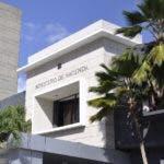 El pais.Grafica del Edificio Ministerio de Hacienda.Hoy/Pablo Matos   11-11-2013