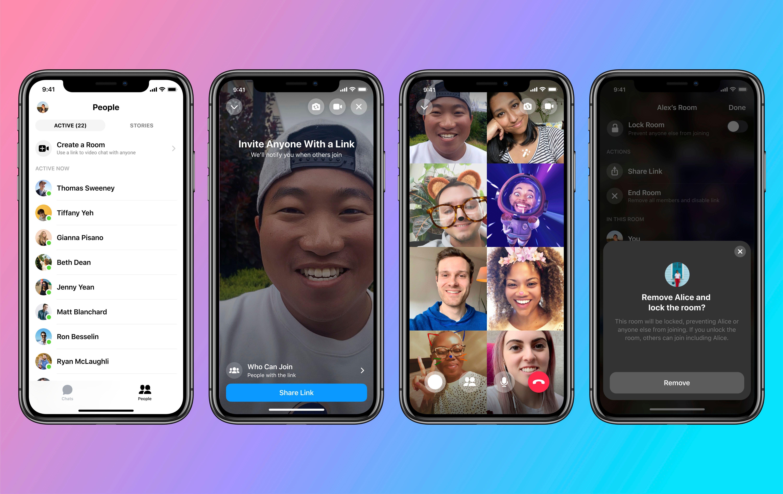 Facebook lanza un nuevo servicio de videoconferencias para competir con Zoom