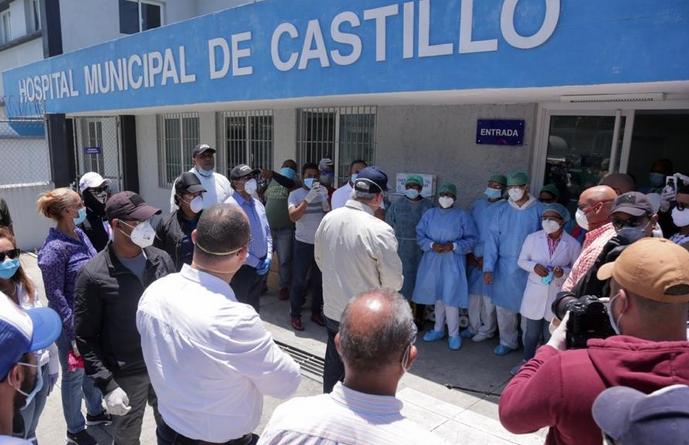La petición de Abinader tras recorrer provincia Duarte y recibir informe del CMD sobre COVID-19