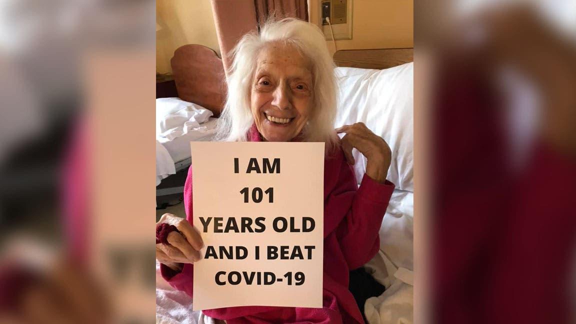 ¡Increíble historia! Angelina sobrevivió a gripe española, cáncer y ahora al COVID-19