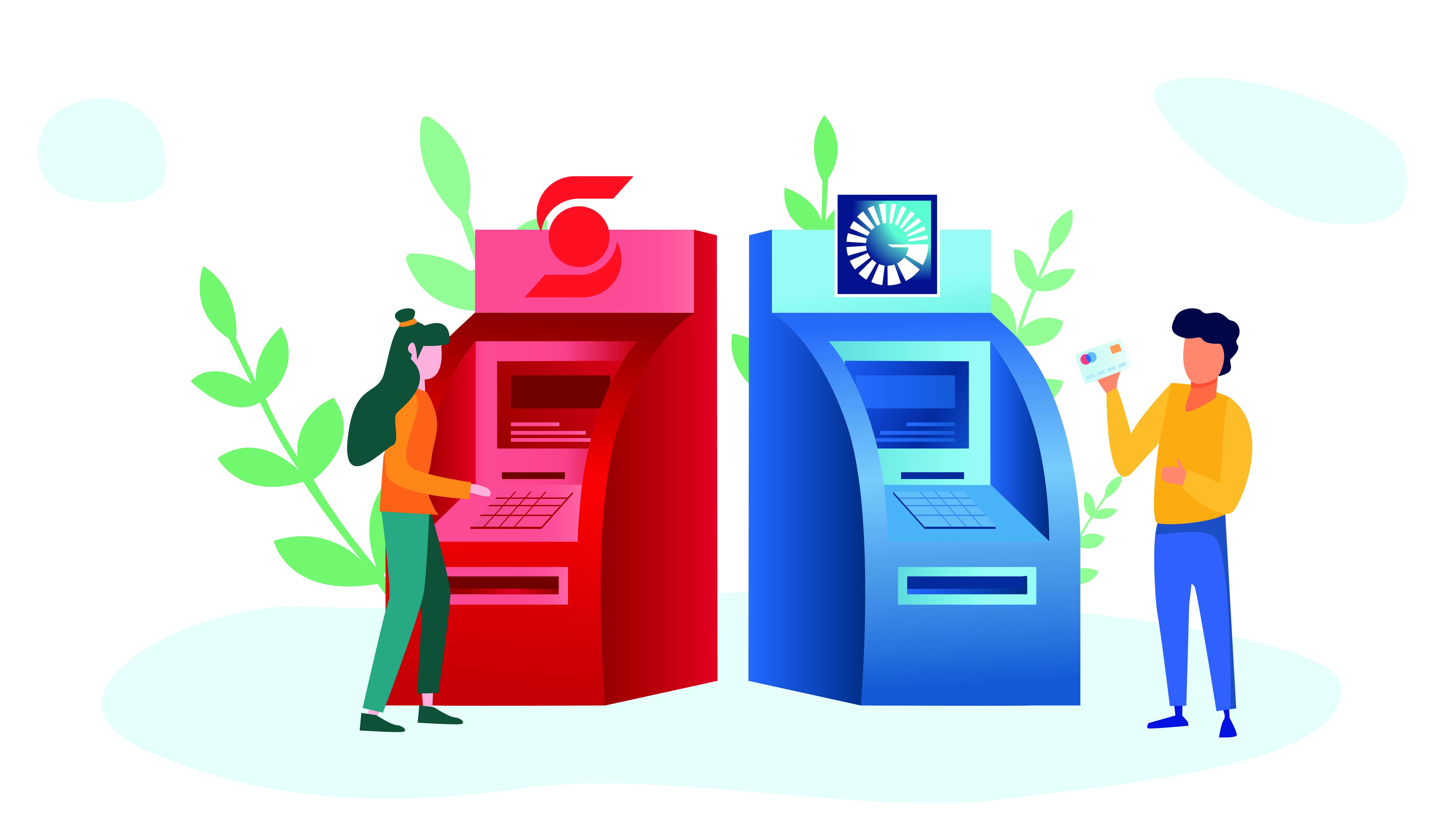 Popular y Scotiabank suman sus redes de cajeros automáticos