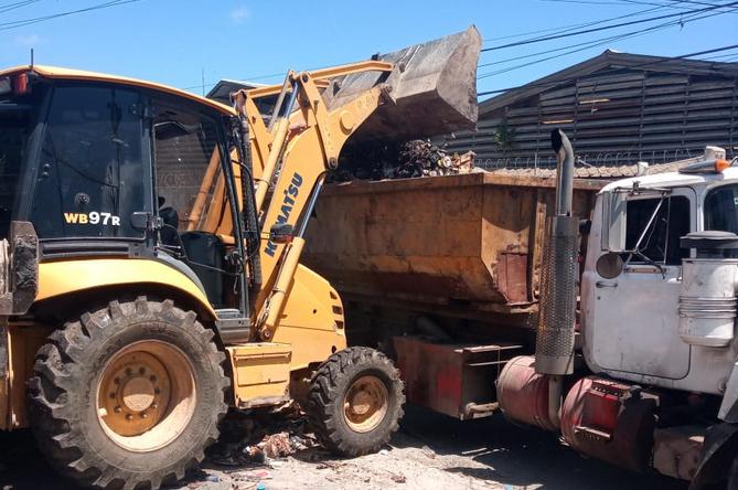 ASDN continúa este jueves operativo de retiro desechos sólidos
