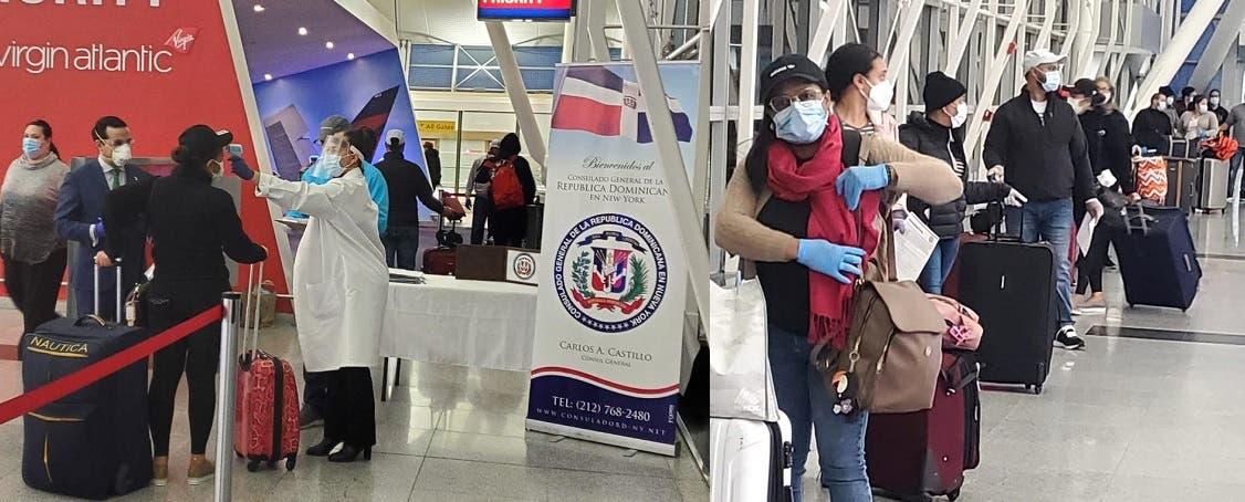COVID-19: Consulado RD-NY despacha otro avión con dominicanos varados en EEUU