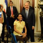 El presidente Danilo Medina expresó que nunca permitirá que se quebrante la libertad de expresión.