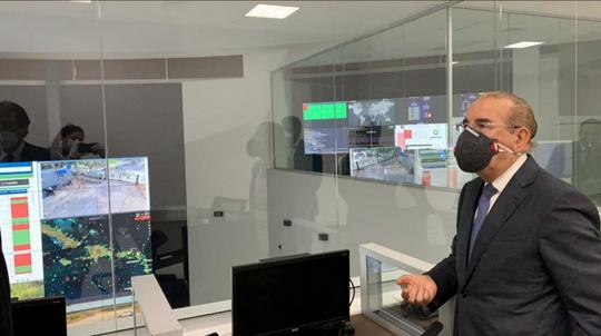 Entérate qué hace el centro de control de coronavirus que visitó Danilo Medina