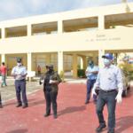 Diego Pesqueira garantizó que la prioridad en estos momentos es proteger las propiedades de las escuelas.