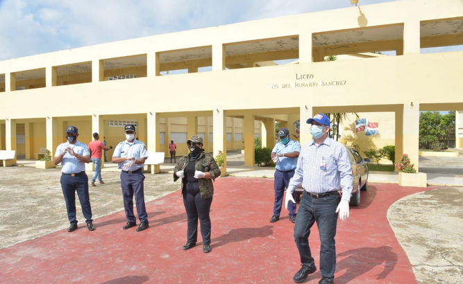 Coordinan operativo para prevenir robo de mobiliarios en centros educativos