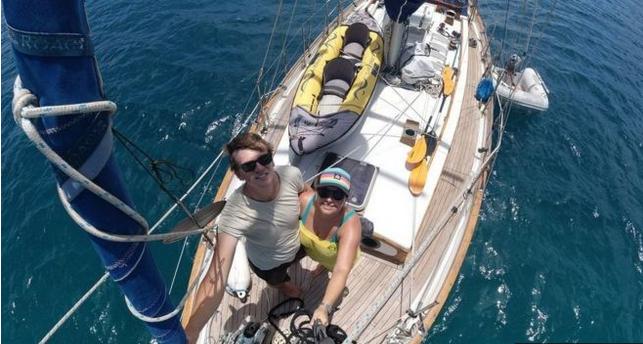 Conozca la historia de la pareja que estuvo semanas en el mar sin saber nada del coronavirus
