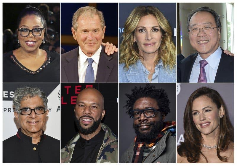 Oprah y Julia Roberts entre 200 famosos que participarán en #CallToUnite por coronavirus