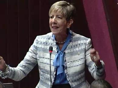Reelección de Eduardo Estrella en Senado entristece a senadora Ginett Bournigal
