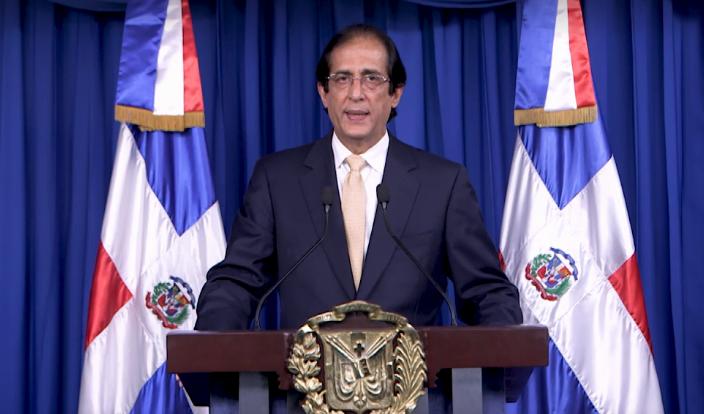 Gustavo Montalvo, ministro de la Presidencia. Archivo.