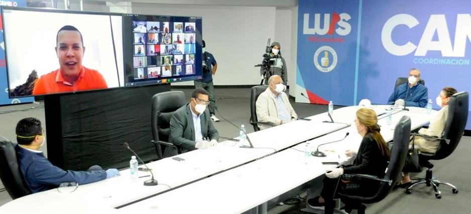 PRM y Luis Abinader aprueban Plan de Emergencia contra el COVID-19 para alcaldías