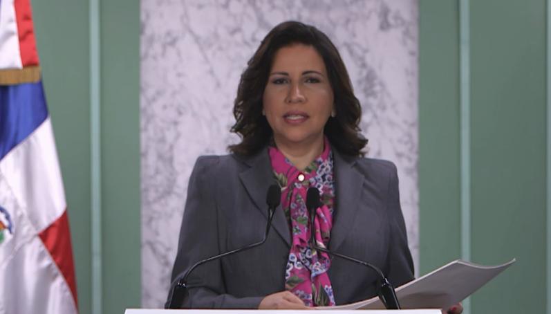 Vicepresidenta Margarita Cedeño hablará al país esta noche a las 7:00