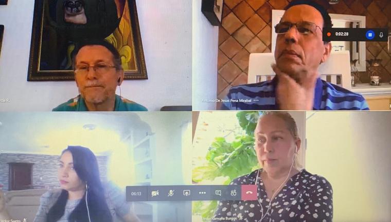 Directores regionaes explican situación de la educación a Peña Mirabal