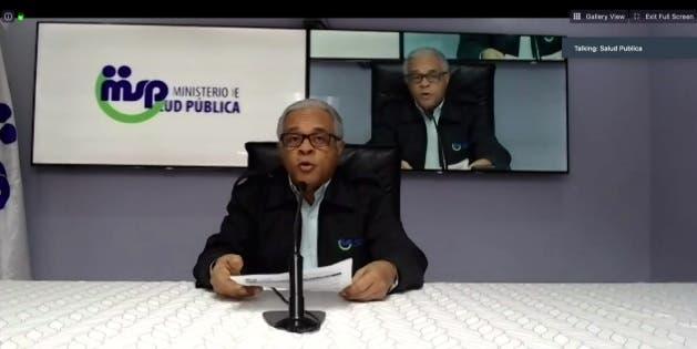 Ministro de Salud habla sobre evolución  coronavirus en RD