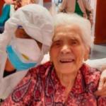 Ada Zanusso se recuperó de coronavirus con 104 años