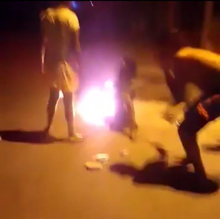 Tres personas intentan quemar mujer en La Romana