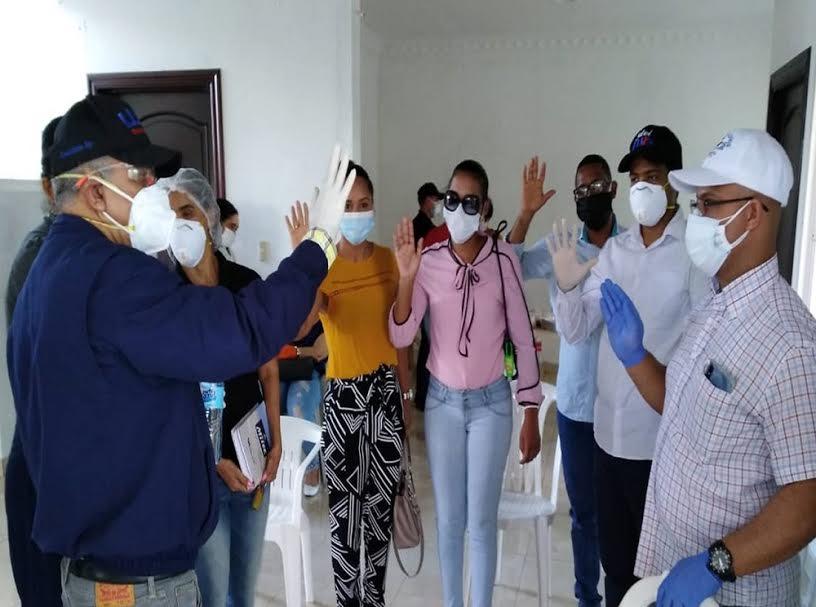 Dirigentes del sector salud del PLD y el PRSC pasan apoyar al PRM