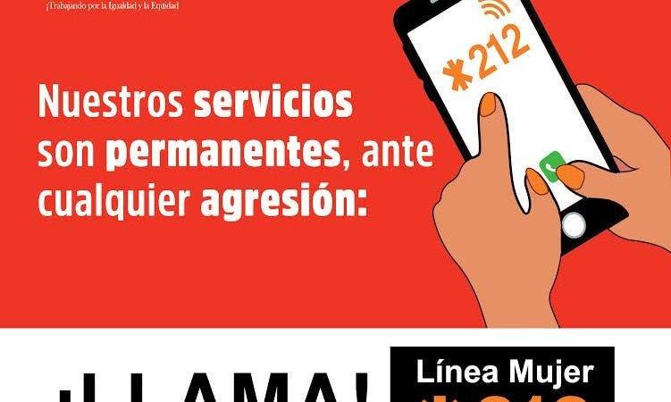 Línea Mujer *212 recibió 22.4 llamadas por día en dos meses de cuarentena