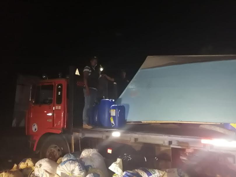 Nueve personas detenidas y una yola incautada durante operativo en Gaspar Hernández