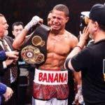 """Jeison """"Banana"""" RosarioDetiene a Williams y captura los títulos mundiales de la AMB, FIB y IBO"""