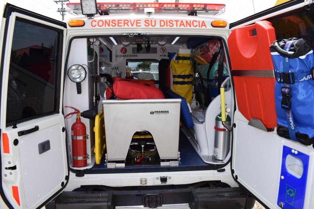 SNS distribuye 40 ambulancias para fortalecer traslado pacientes COVID-19