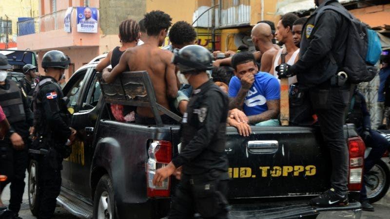 PN realiza operativo en Capotillo. El Nacional/ Jorge Gonzalez