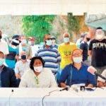 Rueda de prensa sindicalistas del transporte 26-05-2020/Hoy/Ana Marmol/Troi Espejo
