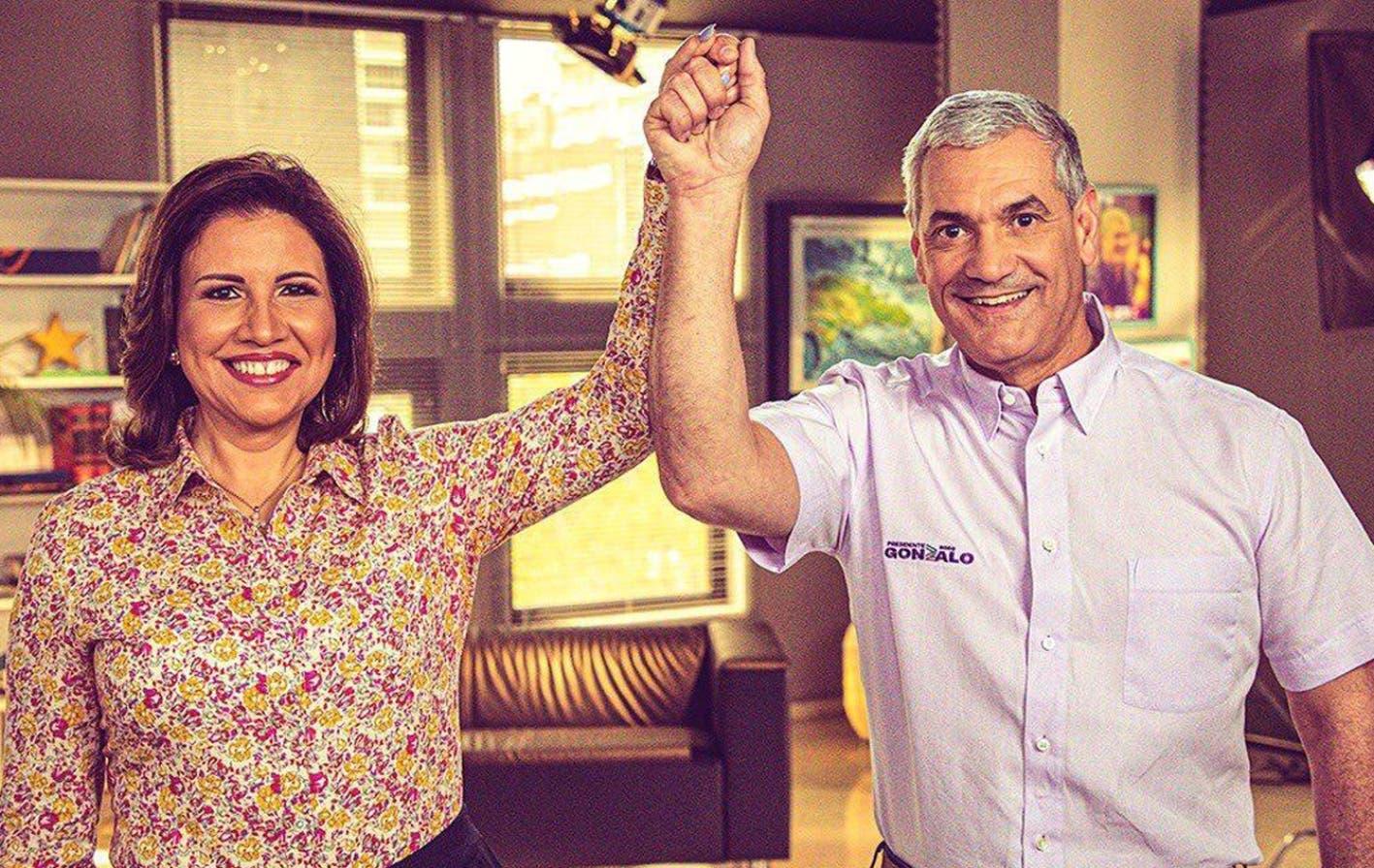 Gonzalo Castillo y Margarita Cedeño hablarán hoy a las 8:00 al país